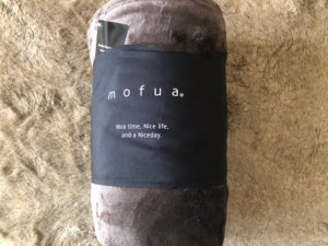 mofuaマイクロファイバー毛布