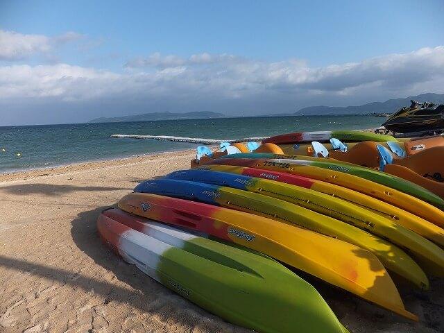 朝のフサキビーチ