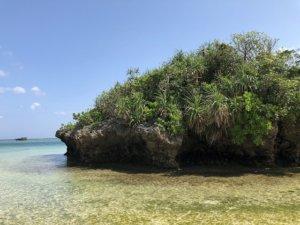 川平湾の無人島